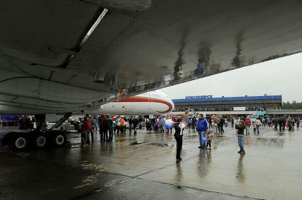 Airport in Krasnoyarsk - Sputnik International