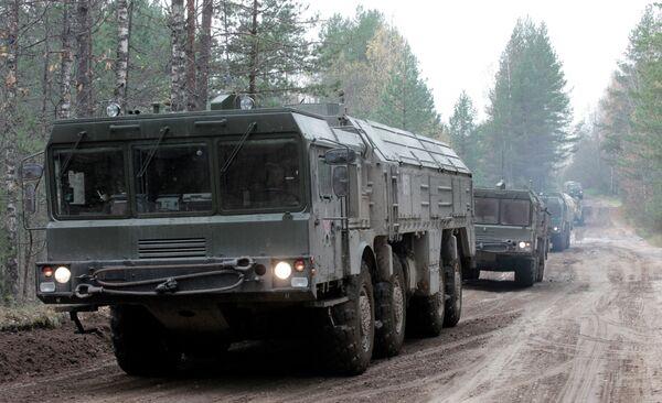 Iskander tactical nuclear missiles - Sputnik International