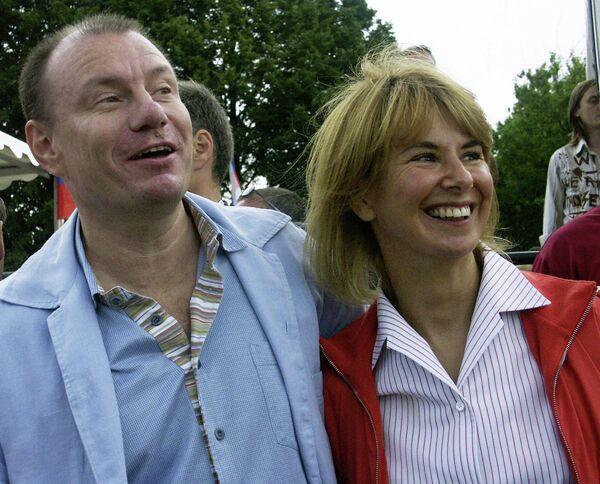Vladimir  Potanin and his wife Natalia - Sputnik International