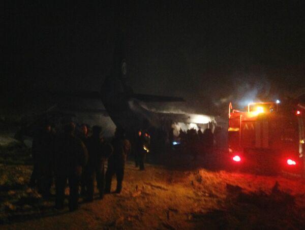 An Antonov An-12 transport plane crashed on the outskirts of Irkutsk - Sputnik International