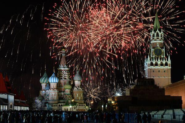 Russia Celebrates New Year - Sputnik International