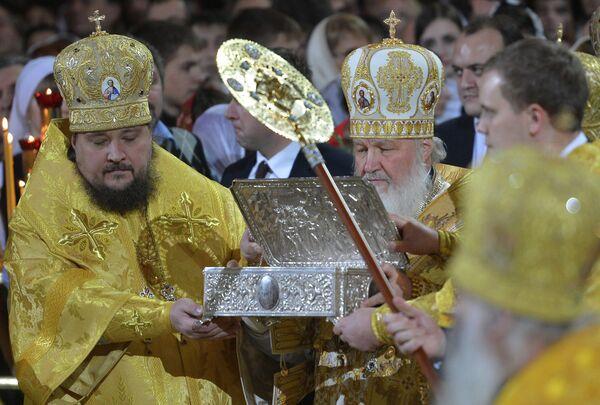 Russian Orthodox Believers Celebrate Christmas - Sputnik International