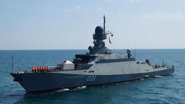 Ten Buyan-M class missile corvettes armed with Kalibr cruise missiles will join the Russian Navy by the end of 2019 - Sputnik International