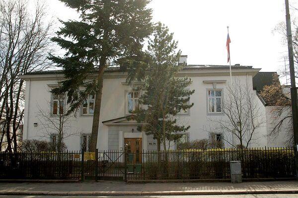 The building of the Russian Embassy in Oslo - Sputnik International