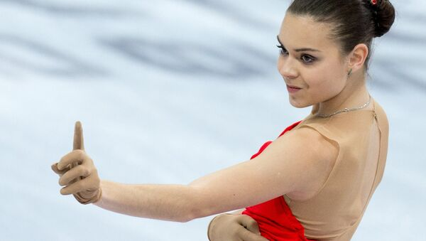 Sochi 2014 Olympic champion in ladies' singles figure skating Adelina Sotnikova - Sputnik International