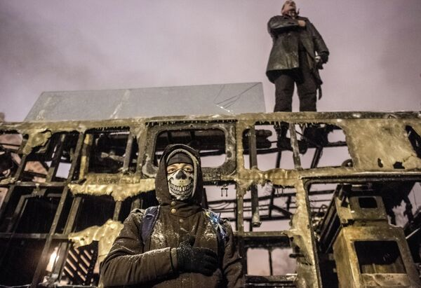 Situation in Kiev - Sputnik International