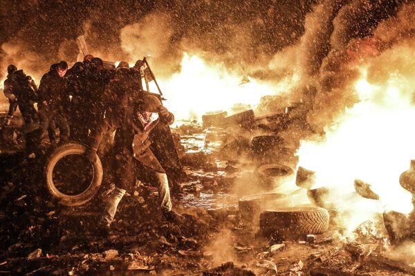 Protests in Ukraine - Sputnik International