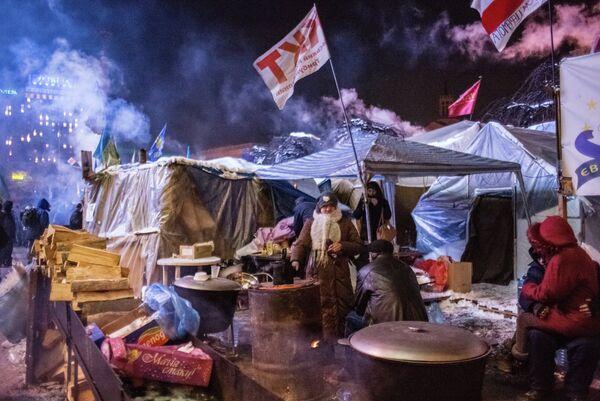 The protesters' camp - Sputnik International
