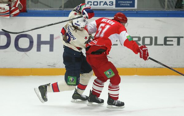 Spartak Pounded by SKA, Sets KHL Record for Defeats - Sputnik International