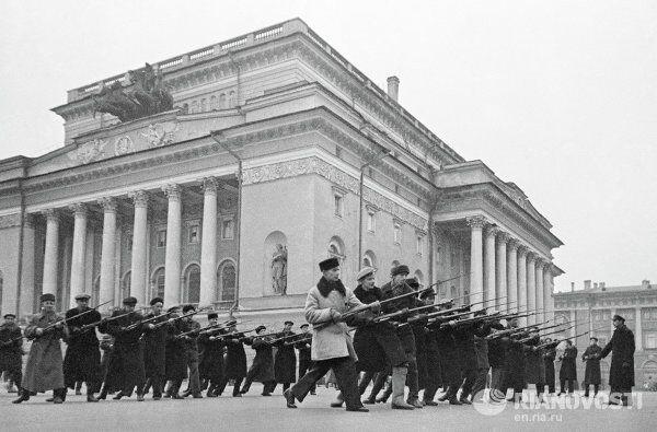 Leningrad Under Siege - Sputnik International