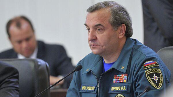 Глава МЧС России Владимир Пучков - Sputnik International