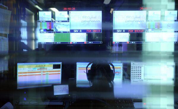 Dozhd TV channel office in Moscow - Sputnik International