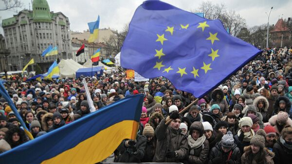 Pro-EU rally in Ukraine - Sputnik International