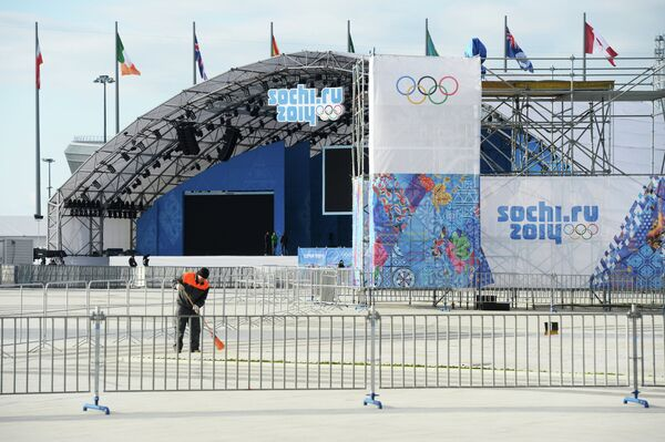 Sochi Puts Final Touches to Olympic Venues Ahead of Opening - Sputnik International