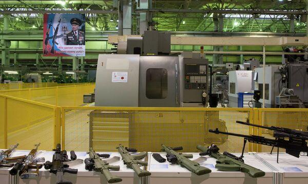 Kalashnikov Concern Estimates Operating Loss of $50M in 2013 - Sputnik International