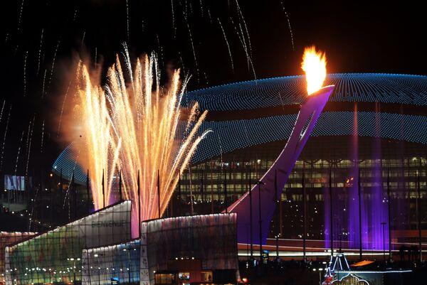 The Sochi Olympic cauldron - Sputnik International