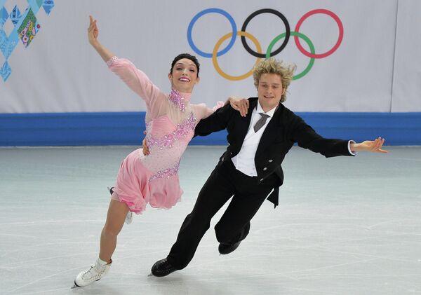 US ice dancers Meryl Davis and Charlie White - Sputnik International