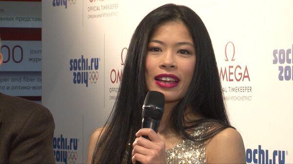 A New Challenge: Vanessa Mae Hits the Olympic Ski Slopes in Sochi - Sputnik International