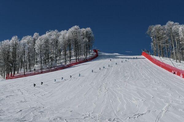 Warm Sochi Weather Brings Schedule Switch for Skiers - Sputnik International