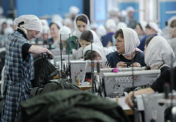 Russian Inmates Produce $900M of Goods Annually - Sputnik International
