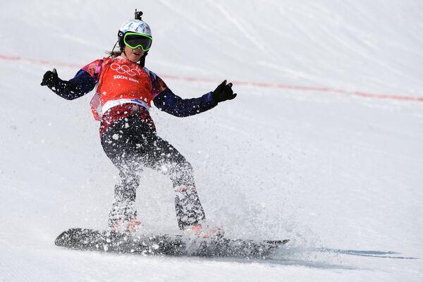 Czech snowboard rider Eva Samkova - Sputnik International