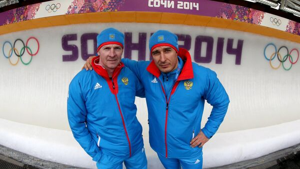Alexander Zubkov and Alexei Voevoda - Sputnik International