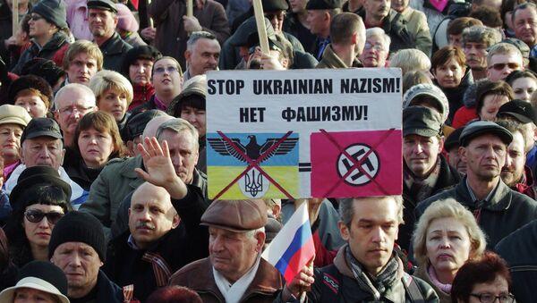 Pro-Russian rally in Sevastopol, February 23, 2014 - Sputnik International