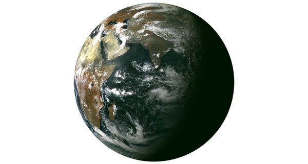 Image of Earth captured by the Electro-L satellite (Archive) - Sputnik International