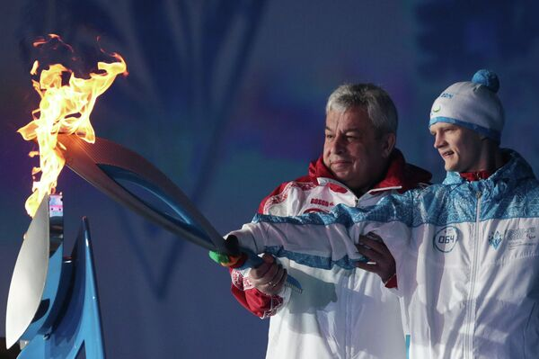 Paralympic Torch Relay: From Moscow to Sochi - Sputnik International