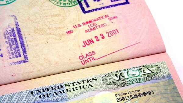 US Visa - Sputnik International