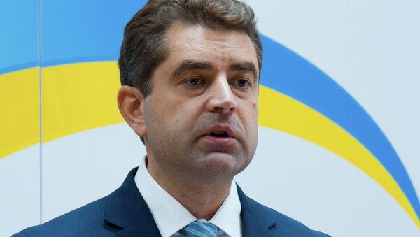 Ukrainian Foreign Ministry Spokesman Yevhen Perebiynis - Sputnik International