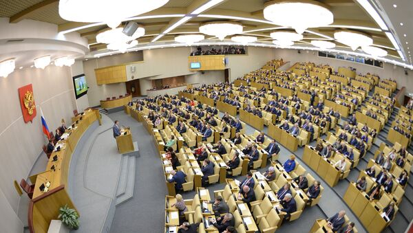 The Duma, Russia's lower house of parliament, has approved a draft budget for the years 2015-2017 in its third reading. The bill now needs approval from the Russian Senate and the president. - Sputnik International