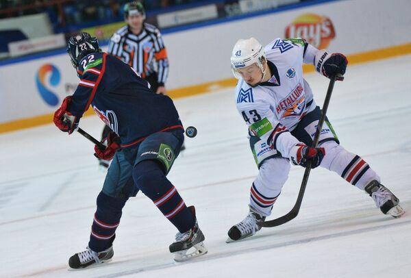 Metallurg Magnitogorsk Eliminates Sibir to Reach KHL Conference Finals - Sputnik International