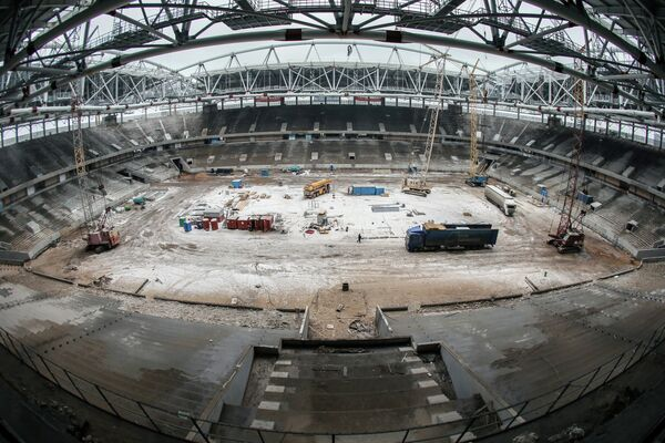 All 2018 World Cup Arenas to Be Ready Months in Advance - Russia - Sputnik International