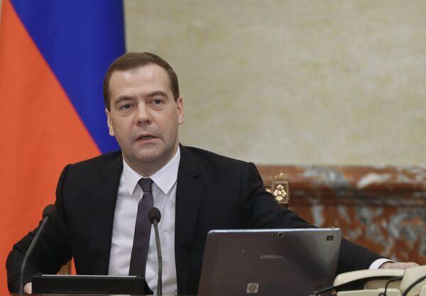 Russian Prime Minister Dmitry Medvedev - Sputnik International