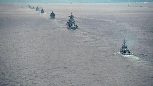 Russian Pacific Fleet ships - Sputnik International