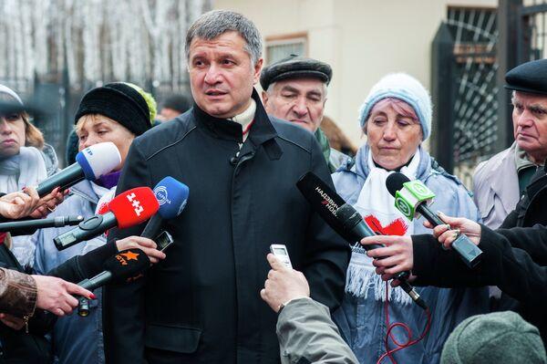 Ukraine's Interior Minister Arsen Avakov. - Sputnik International