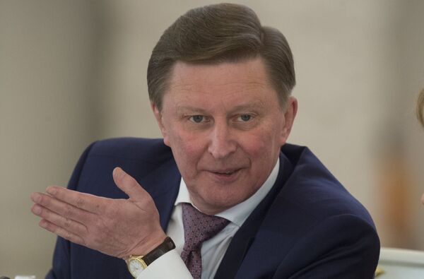 ussian presidential administration chief Sergei Ivanov said that the  results of the work aimed at developing the infrastructure of the Kuril Islands are clear and positive. - Sputnik International