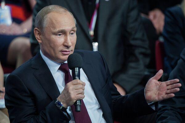 Putin Calls on Russian Human Rights Experts to Monitor Ukraine - Sputnik International