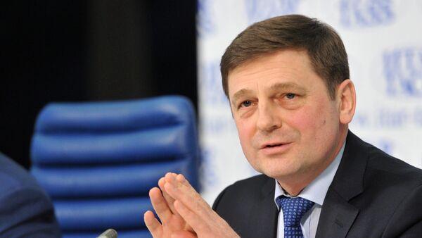 Roscosmos Head Oleg Ostapenko - Sputnik International