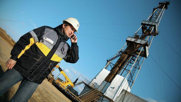 Rosneft Oil Company's oil derrick - Sputnik International