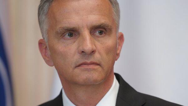 OSCE Chairman-in-Office Didier Burkhalter welcomed the ceasefire implementation memorandum signed by Contact Group in Minsk. - Sputnik International