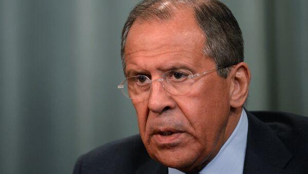 Russian Foreign Ministers Sergei Lavrov - Sputnik International