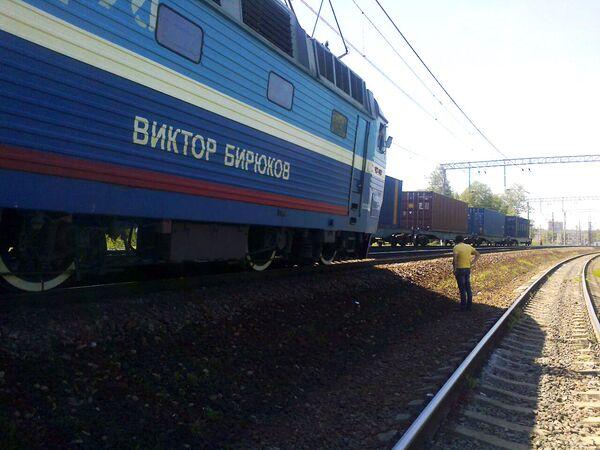 Train Hit in Moscow Region to Continue Journey to Chisinau - Sputnik International