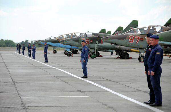 Competition of Aviadarts aircrews - Sputnik International