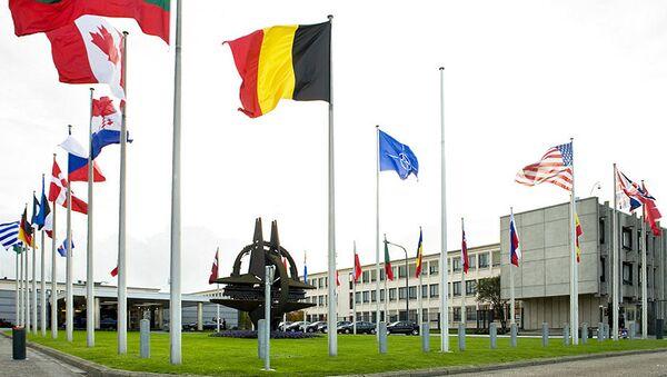 The Building of NATO headquarters in Brussels. - Sputnik International
