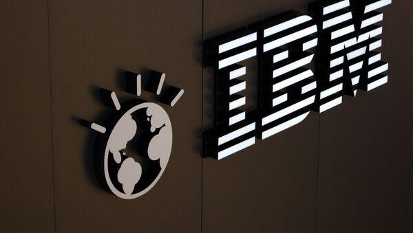 Логотип корпорации IBM - Sputnik International