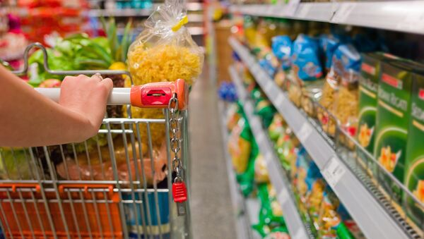 Food prices in Russian groceries and supermarkets could increase by more than 10 percent in 2015, Deputy Prime Minister Arkady Dvorkovich said on Thursday. - Sputnik International