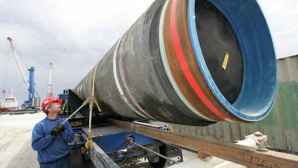 Construction of Nord Stream pipeline - Sputnik International
