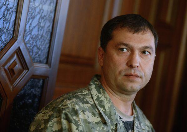 Head of the Lugansk People's Republic (LPR) Valery Bolotov - Sputnik International